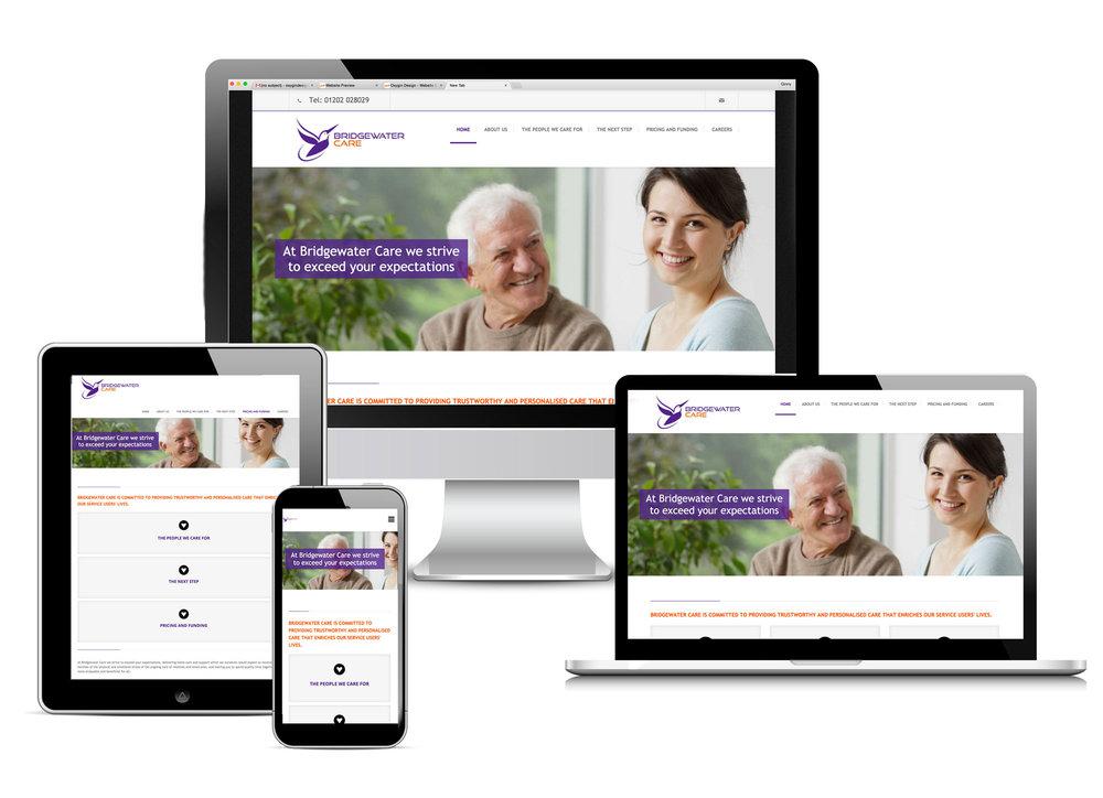 Bridgewater Care - website creation