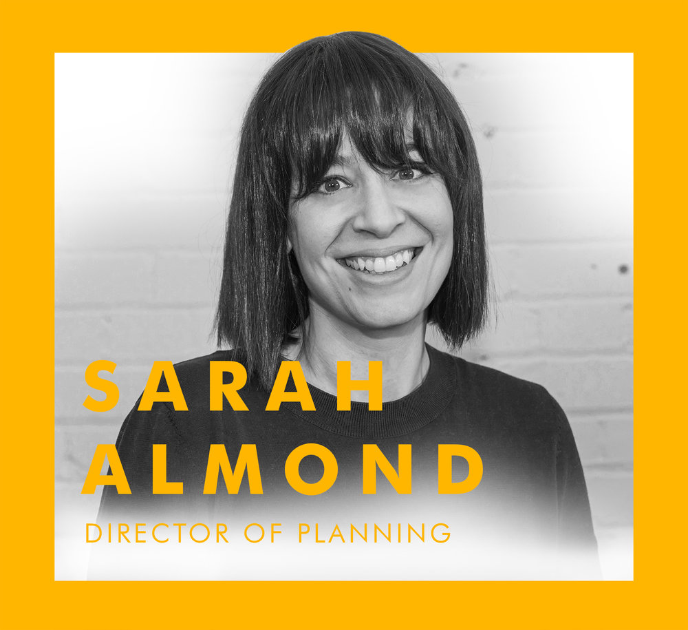 Across the pond, our  Director of Planning  worked on some of the world's most influential brands for 13+ years. Now she brings a ton of big thinking (and one little family) to Toronto, plotting ways to tell target relevant stories with universally relevant insights.