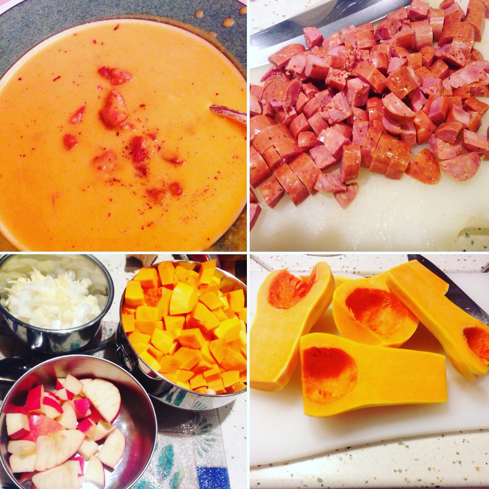 Simple Ingredients + Love = Delicious Butternut Apple Soup