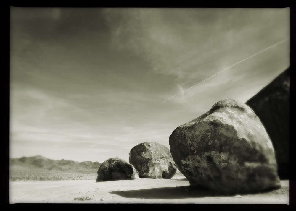 Photo © Hannah Yesk UFO: GIANT ROCK