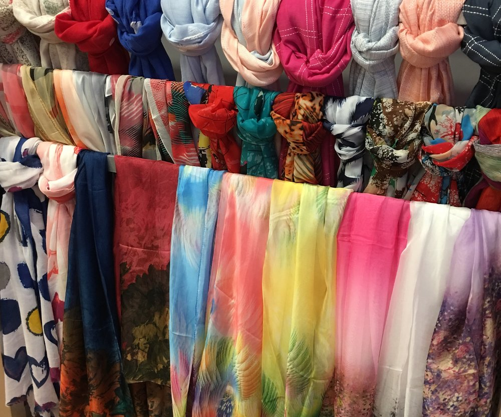 LOVE, LOVE, LOVE THE NEW SPRING SCARVES!