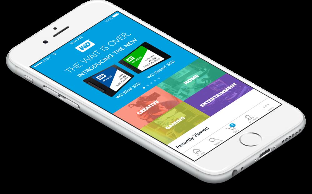 Western Digital App — Drew Michinock