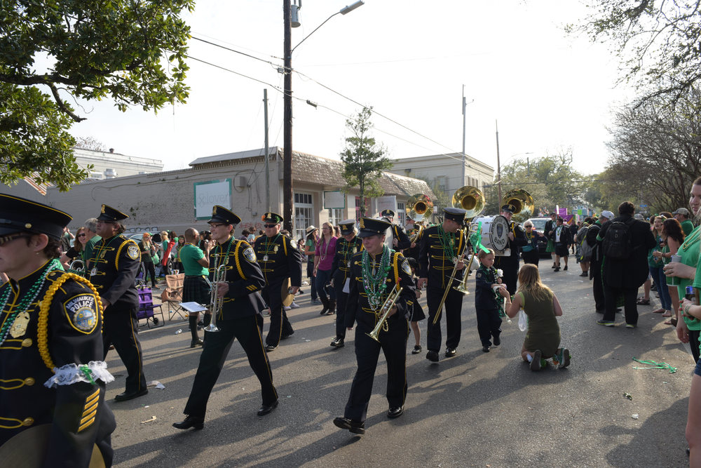 New Orleans St. Patricks Day Parade 2015