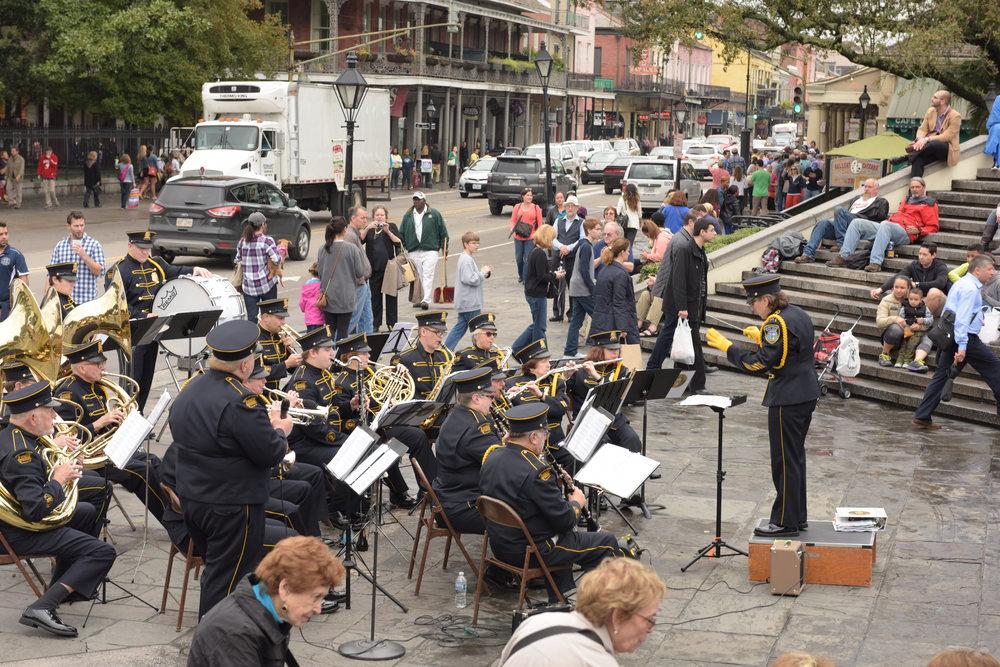 Artillery Park Concert, New Orleans 2015
