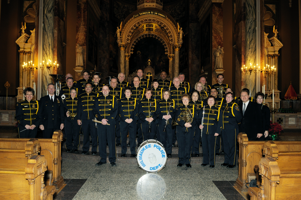 The Basilica of St. Josaphat after the Mass of Blessing for Police Officers