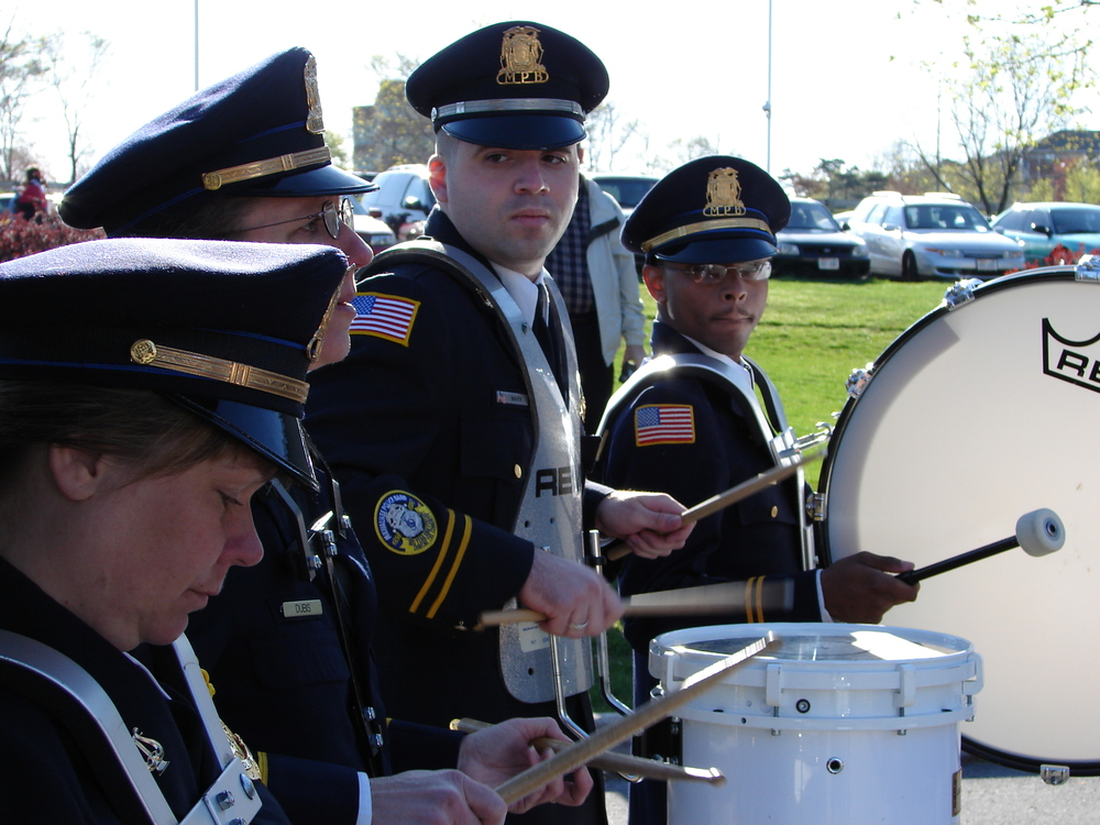Milwaukee Police Band Percussion Section 2006