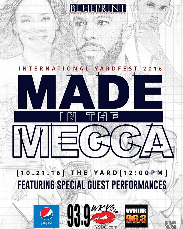 Join us Friday at 12PM - Made in the Mecca - Yardfest 2016 #PresentedByPepsi #ExperienceBlueprint