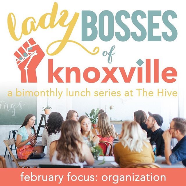 Our first #LadyBossesOfKnoxville lunch of 2019 is sure to spark joy ✨ Join us two weeks from today on February 26 where we'll be highlighting four women in our area working in various facets of home and life organization: @ameliabartlett, Monika Miller of @bowerandbird.us, Samantha Lane of @myorigamiday, and Taryn McLean of @helpyoudwell. Lunch will be catered by Brown Bag. Tickets at the link in our profile! • #ilovelocalknoxville #scruffycity #iloveknoxville #knoxify #igknoxville #whatsupknox #865life #visitknoxville #new2knox #themakercity #thehiveknox