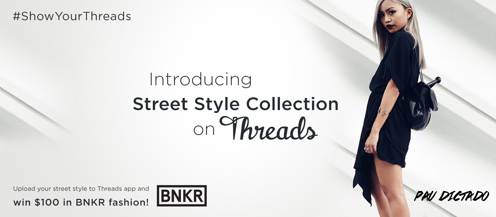 Post your street style to Threads and you could win $100 in BNKR fashion! (contest ends 11/13)