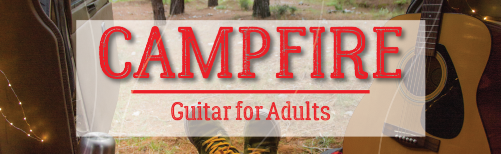 Campfire Guitar for Adults