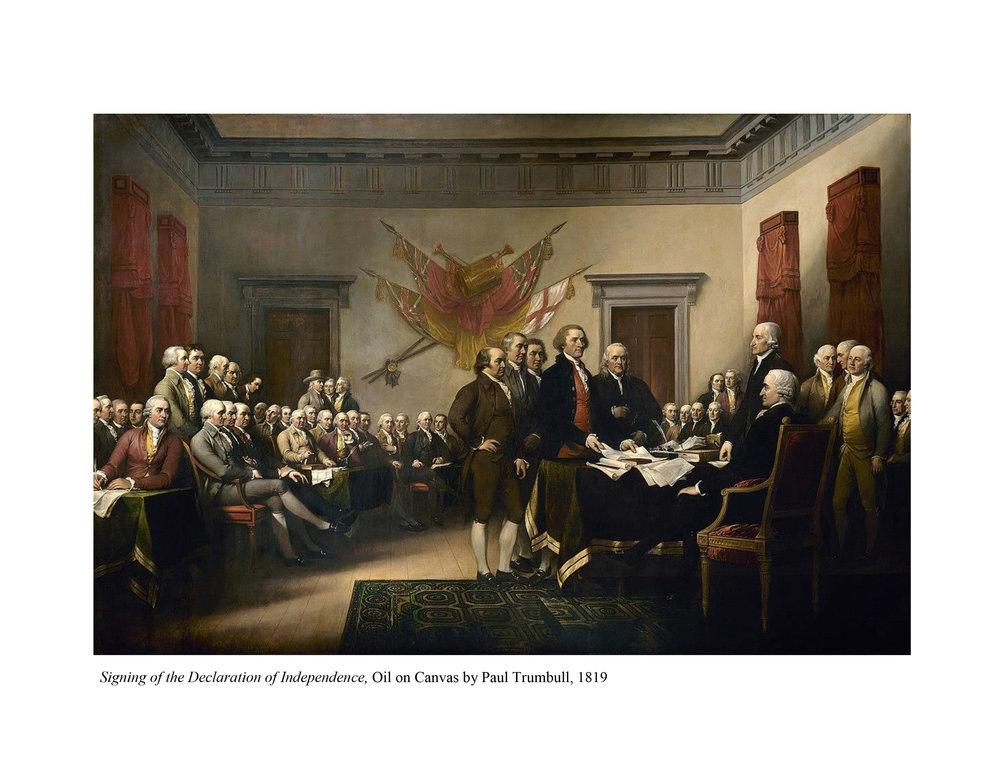 Signing of Declaration_Paul Trumbull