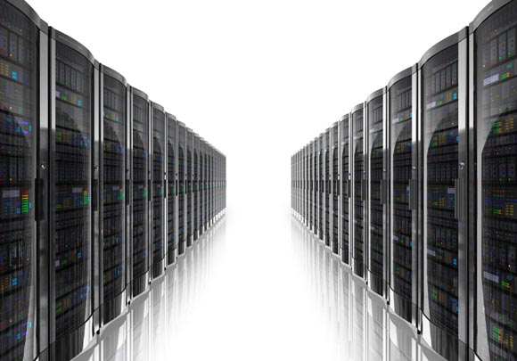 Servers Storing Terabytes of Data