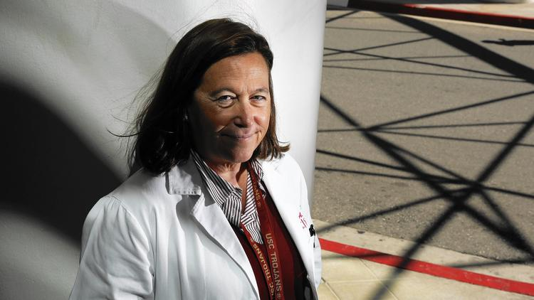 Dr. Leslie Saxon via LA Times