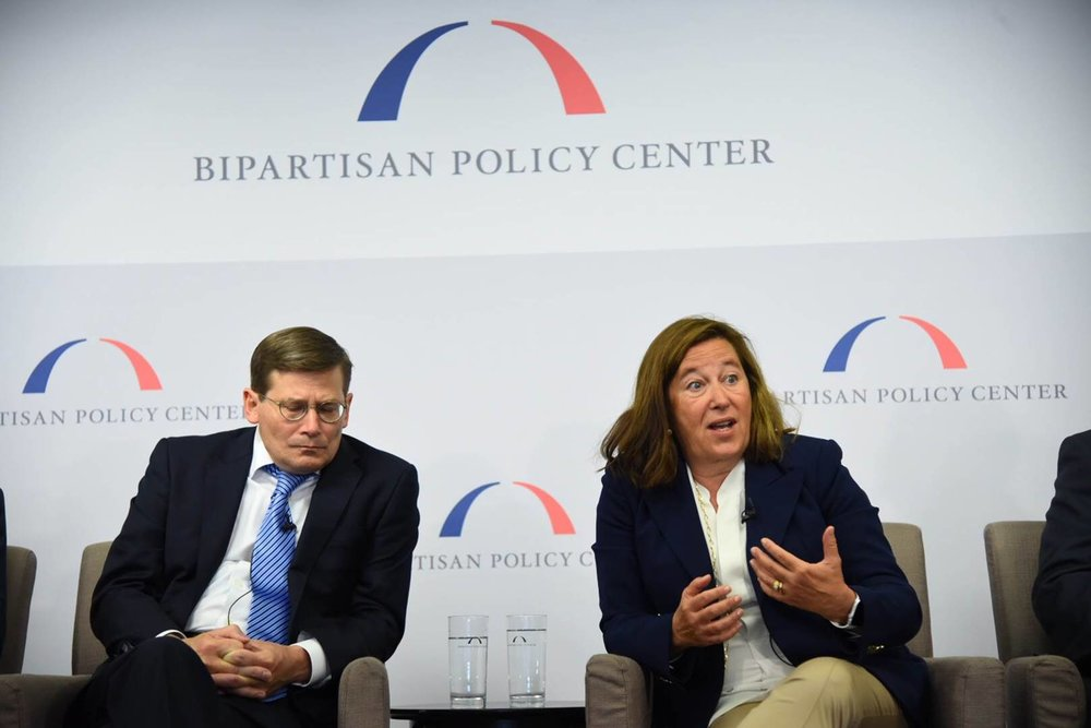 Bipartisan Policy Center Event - Michael Morrell and Leslie Saxon, MD Cybersecurity and Medical Devices: Risk Assessment and Response June 28, 2017