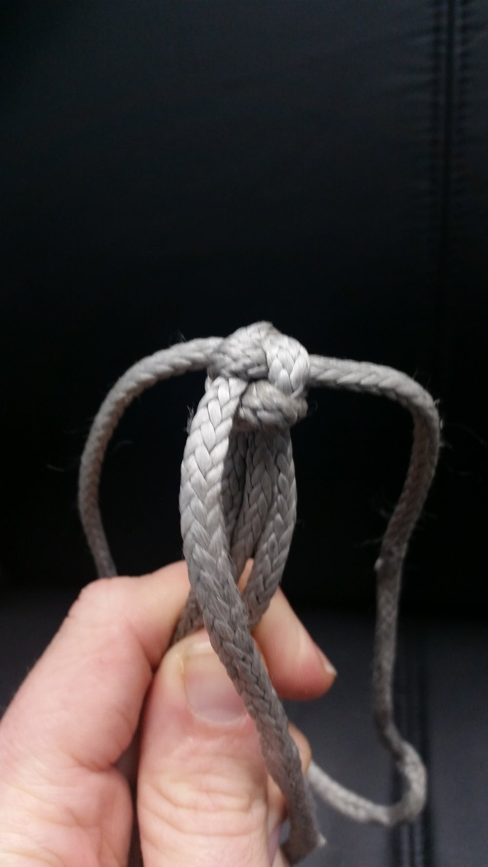 Wall Knot with Crown Knot