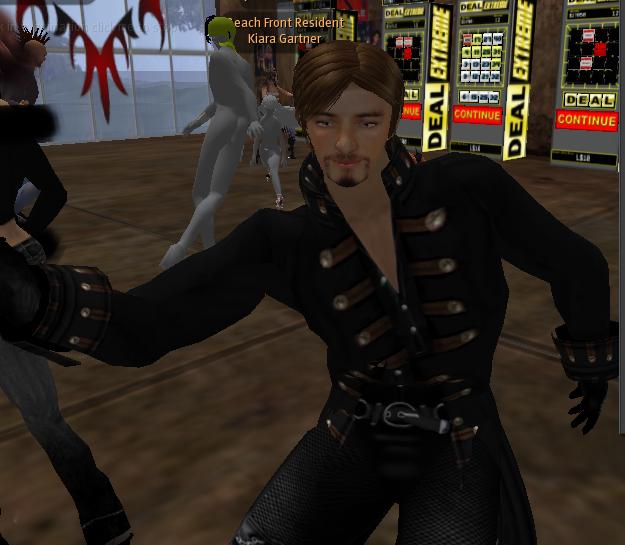 Errol dancing.