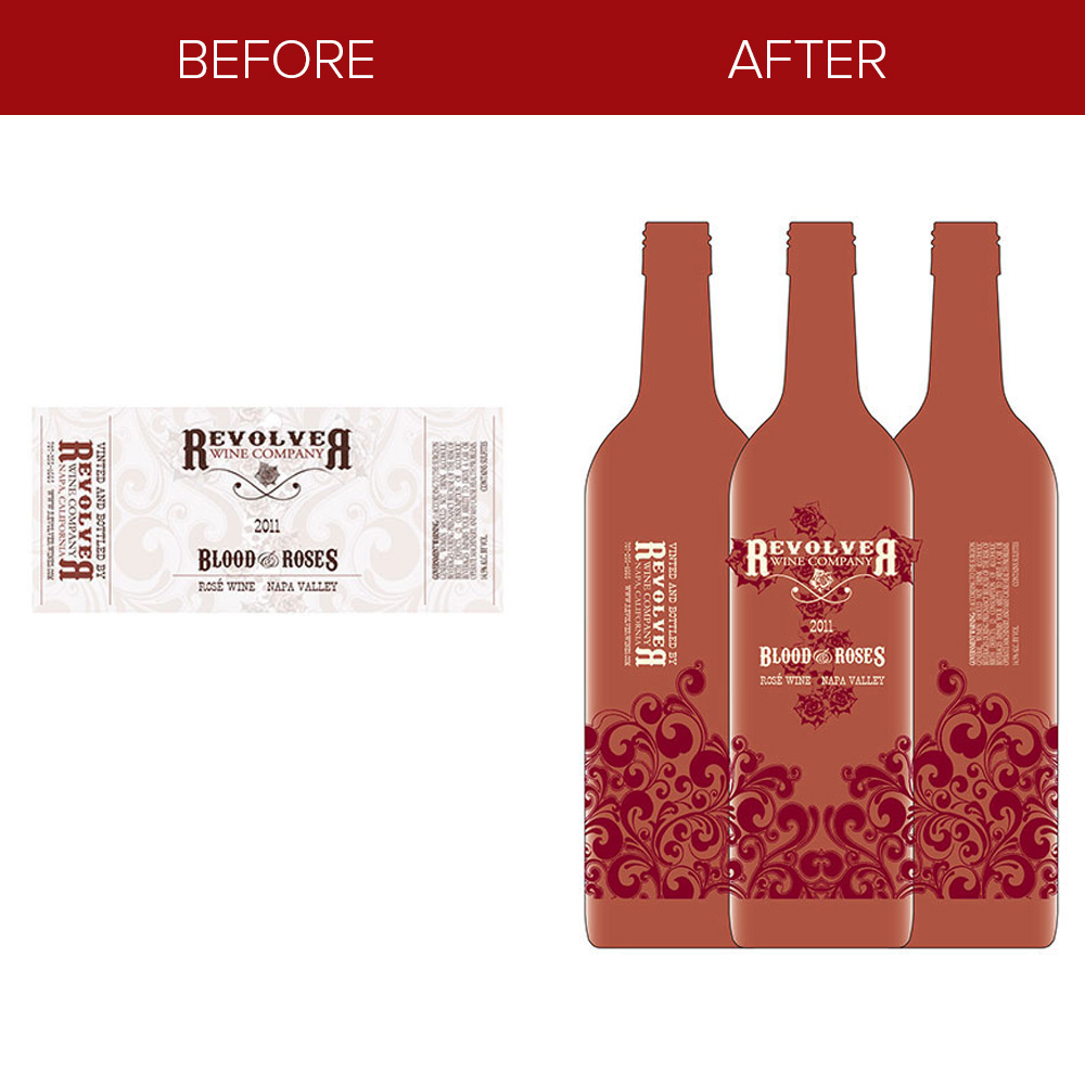 paper wine label refresh