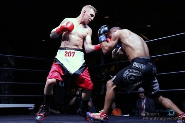 "Portland Boxing Club's Casey ""Buzzsaw"" Kramlich. Photo by Kineo Photography."