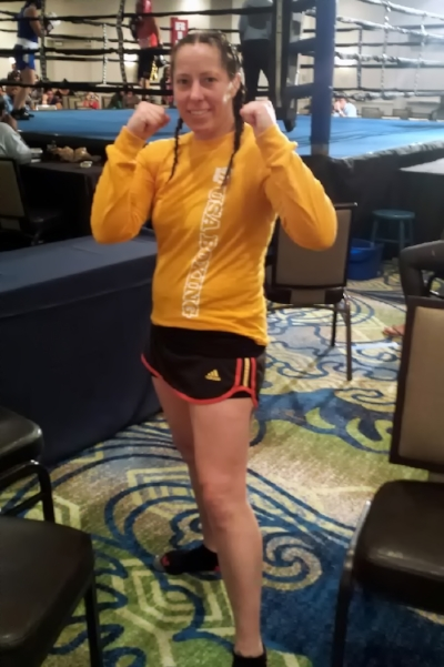 Portland Boxing Club's Liz Leddy advances to the finals in the Women's National Golden Gloves.