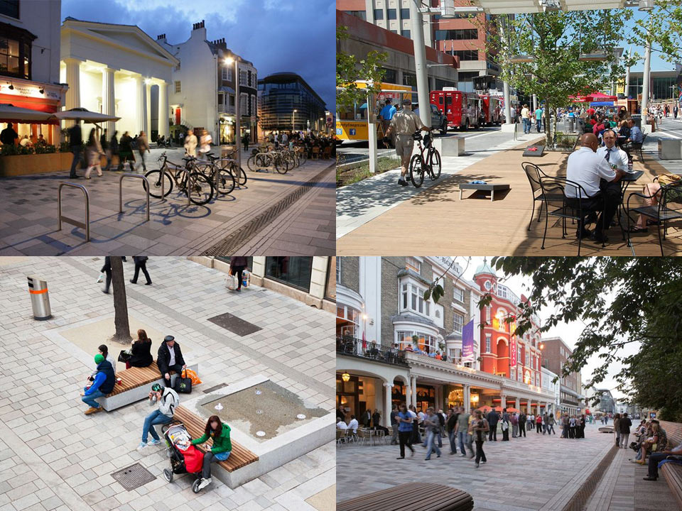 На фото: Примеры так любимыхтуристами и горожанами главных улиц разных городов мира.