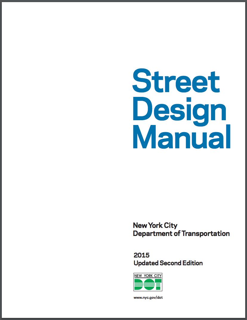 Street Design Manual   New York City Department of Transportation 2015  Полистать
