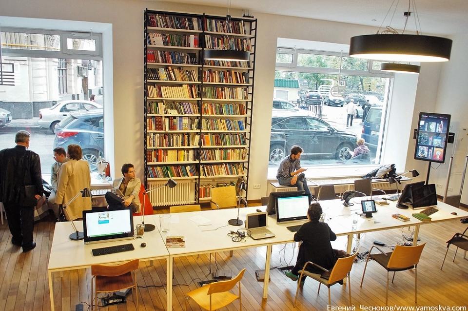 Реорганизованное пространство библиотеки позволяет ей быть активным центром культурной жизни