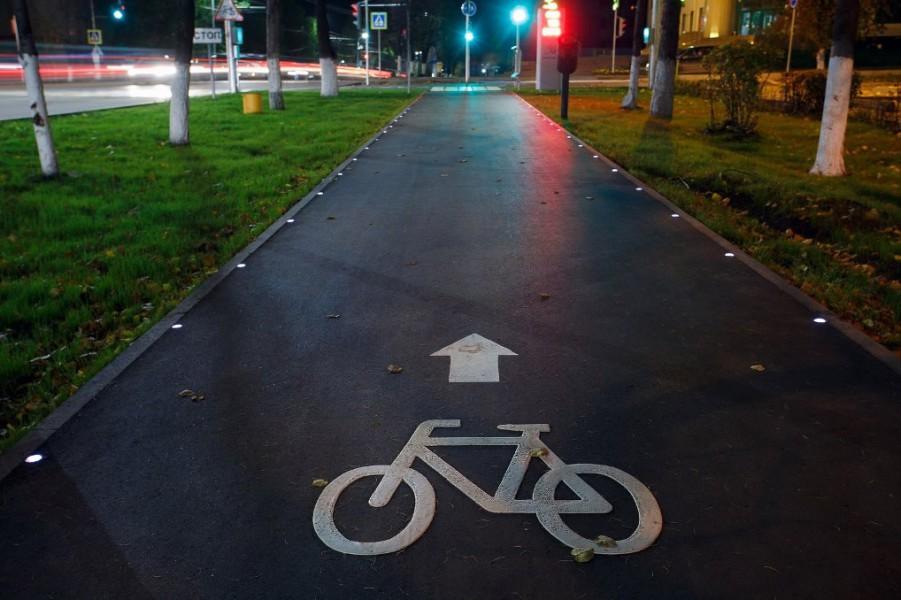 Теперь велодорожки в Альметьевске соединены в общую сеть.
