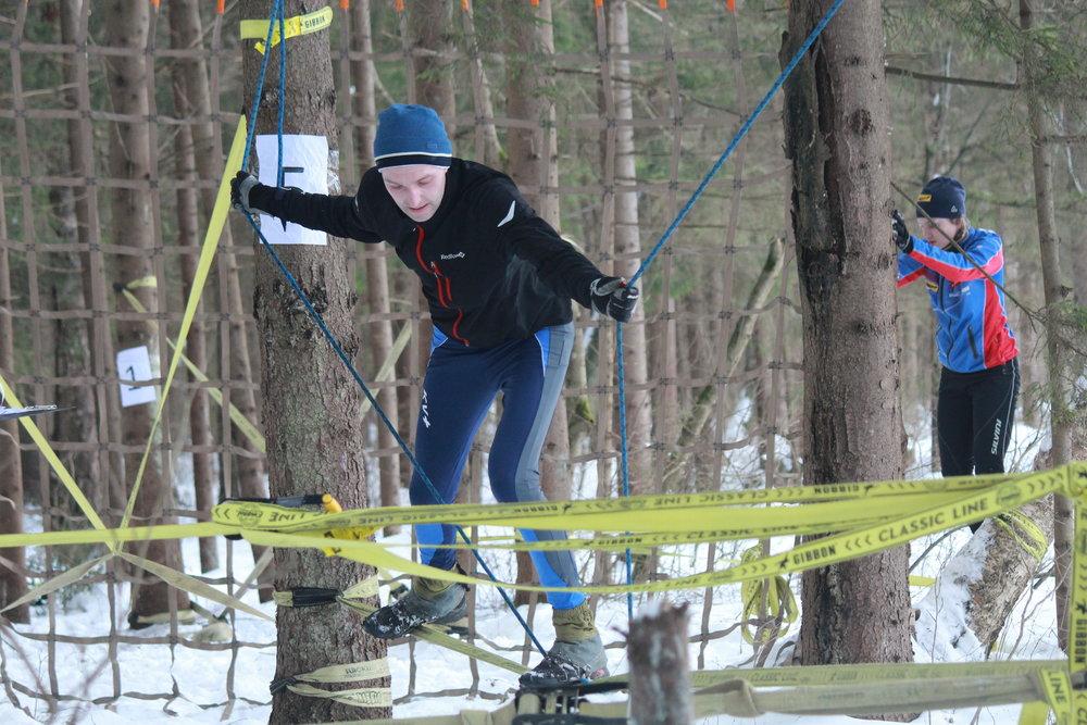 Фрироуп — спортивная дисциплина, в которой участники преодолевают искусственные препятствия, не касаясь земли