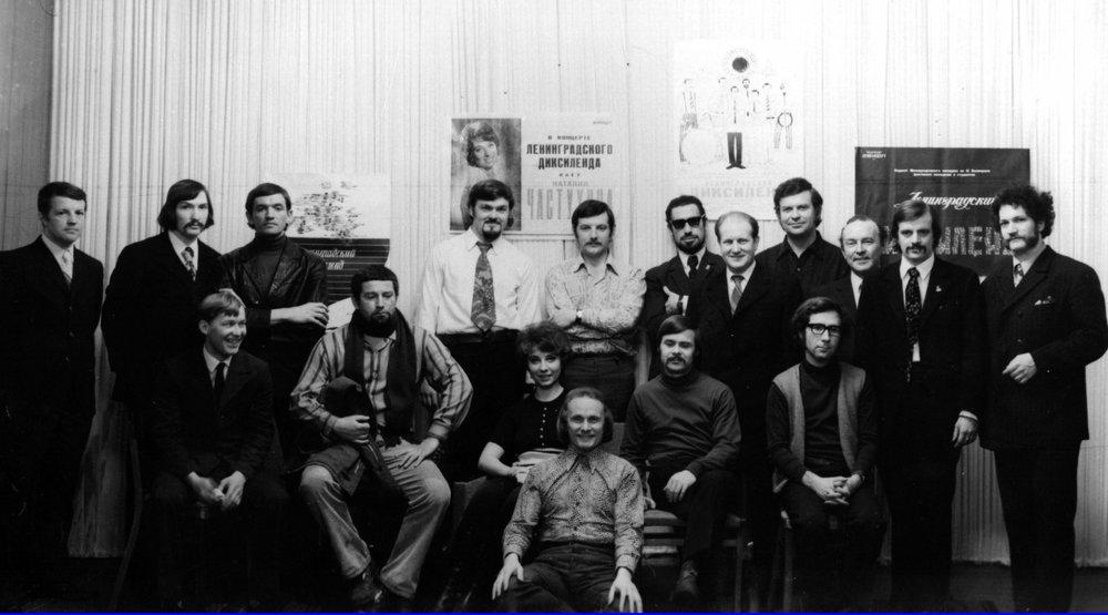«Обнинский Диксиленд» и «ЛенинградскийДиксиленд»//личный архив Геннадия Баранова