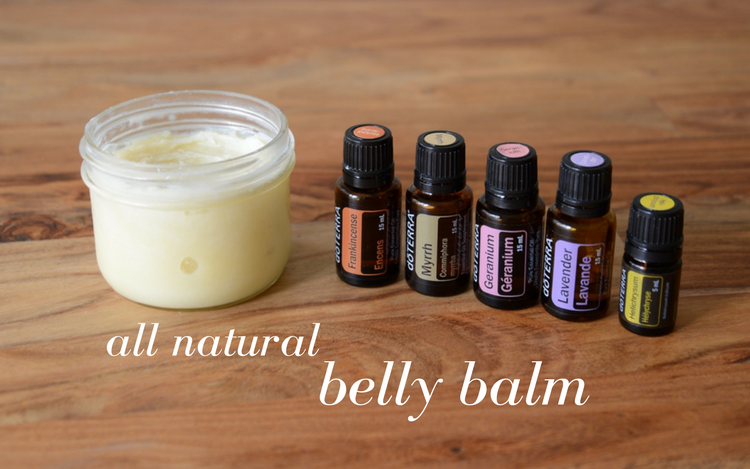 DIY Belly Balm for Pregnancy