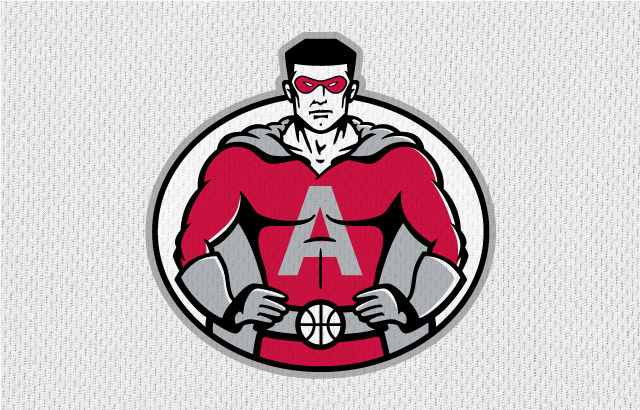 NBA-Style Sports Logo Heroes