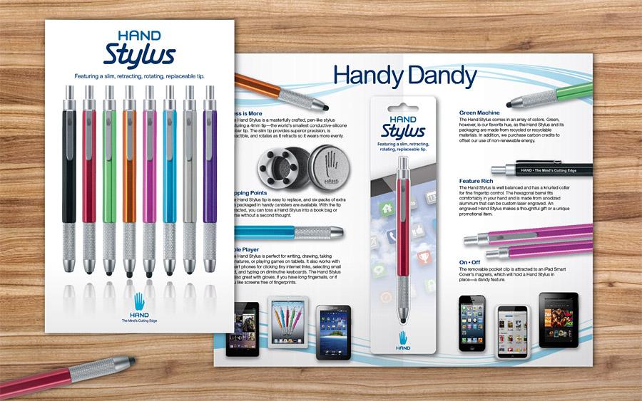 Hand Stylus Brochure