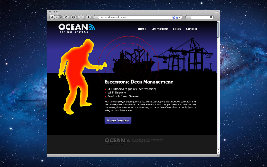 Ocean Defense Systems Web Design
