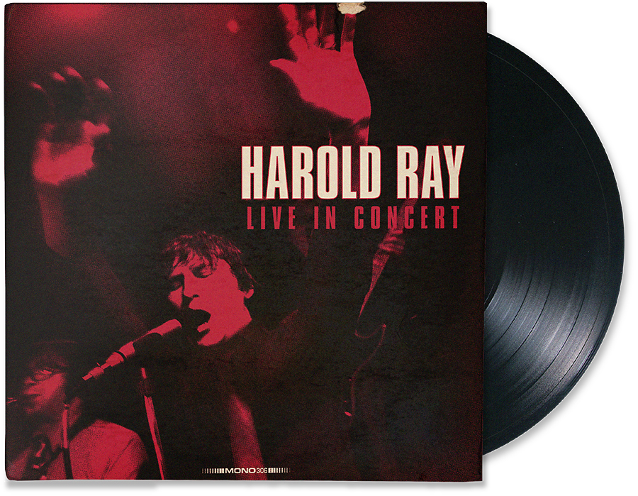 Harol Ray LP Record Cover Art