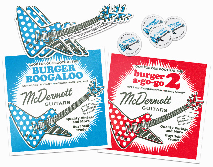 MCDG Promotional Items for Burger Boogaloo
