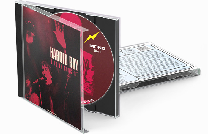 Harold Ray CD Packaging Design