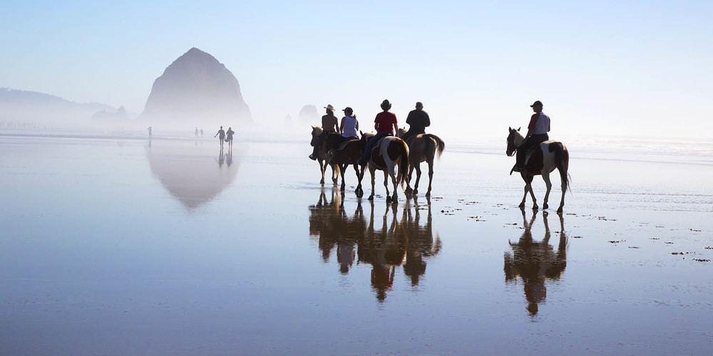Cannon Beach Horse Ride