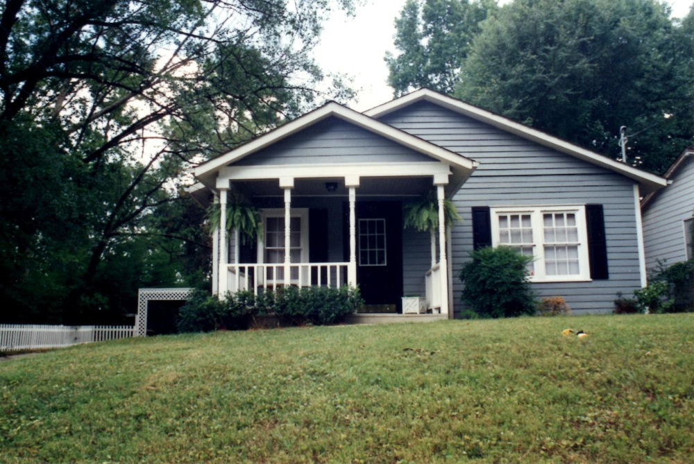 My first flip in Atlanta, 1994. I really should have painted that door red!