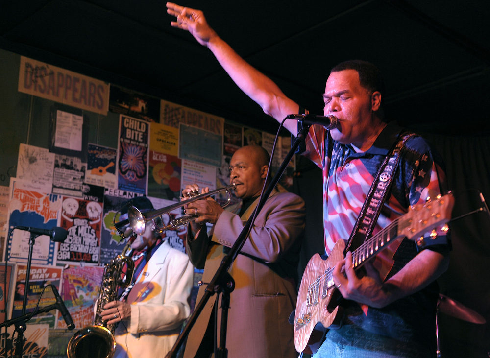 Luther Keith Blues Band. Photo courtesy of musician