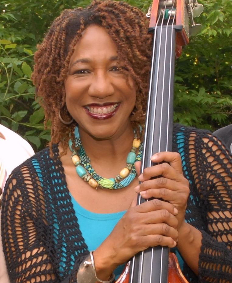 Marion Hayden performs with Taslimah Bey's Ragtime Band. Photo by ©Barbara Barefield