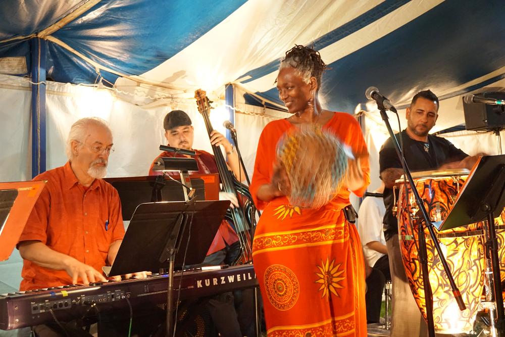 Orquesta La Inspiracion photo by ©Barbara Barefield