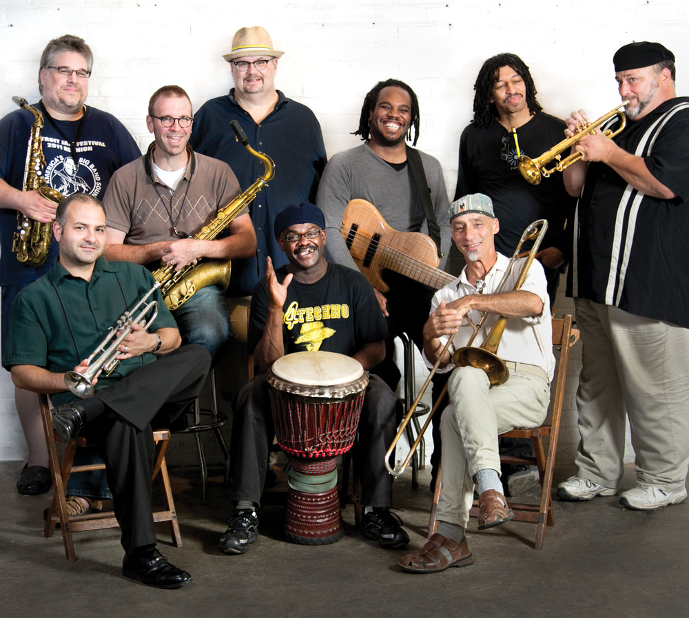 Planet D Nonet. Photo by ©Kyla Dorsey Pedrez