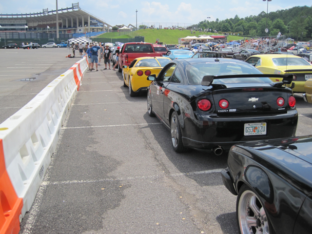 Autocross lineup