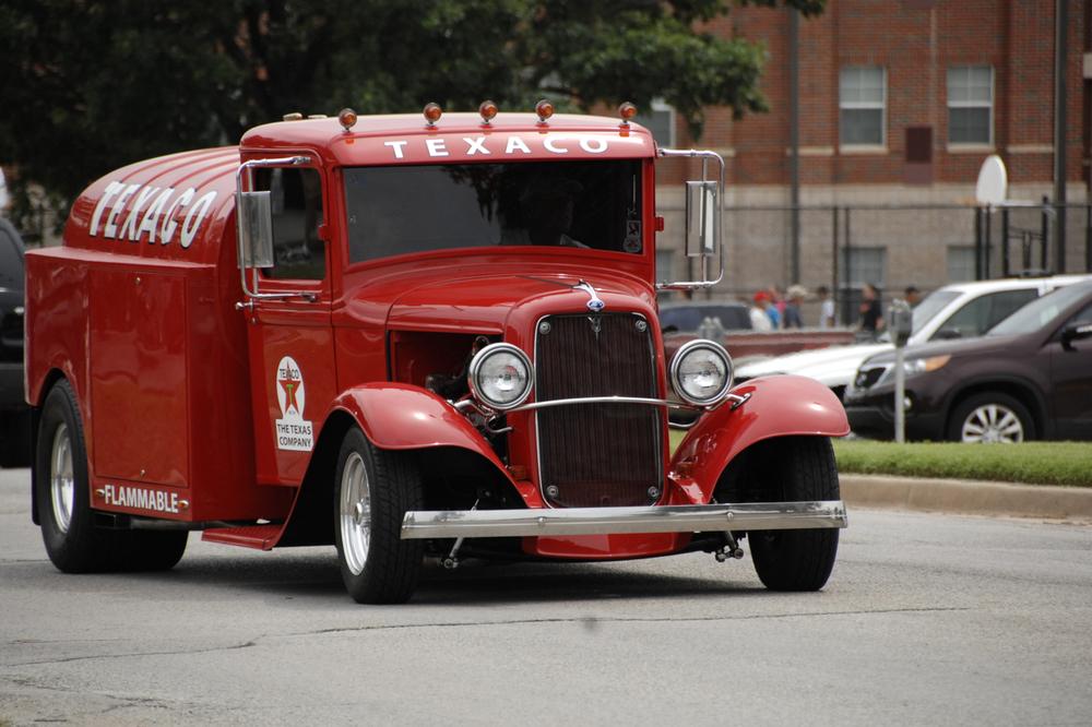 Hot Rod Texaco Truck