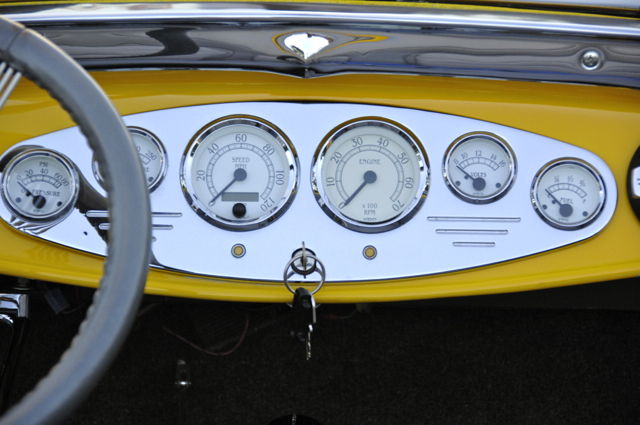 Ford Roadster Gaugues