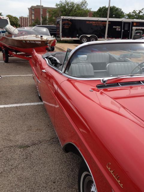 1957 Cadillac convertible-TrailerM