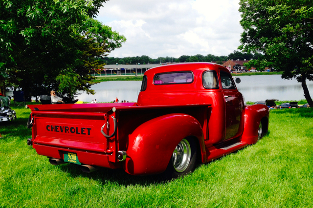 Chevy on the lake