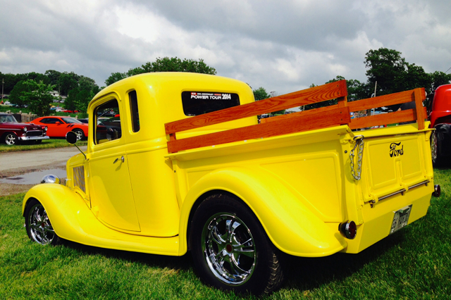 Yellow Ford on the hill