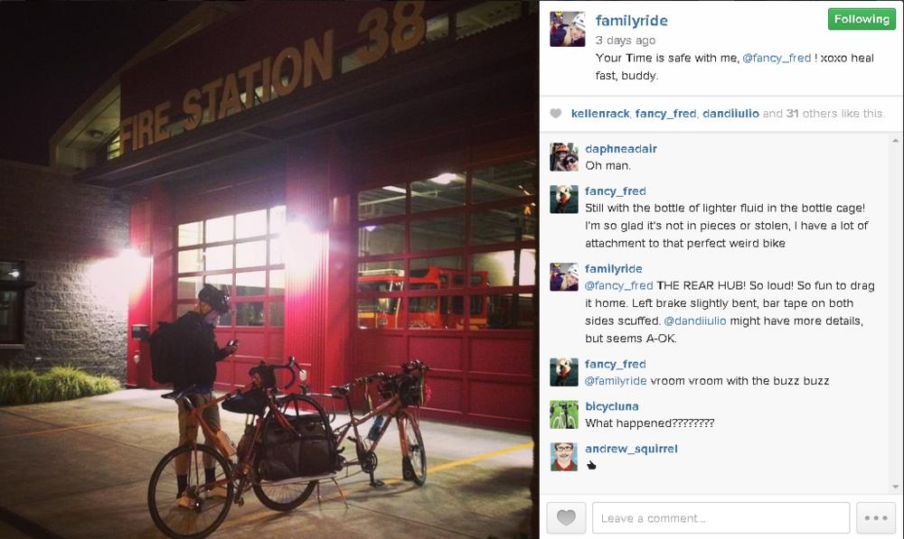 Fred's Bike