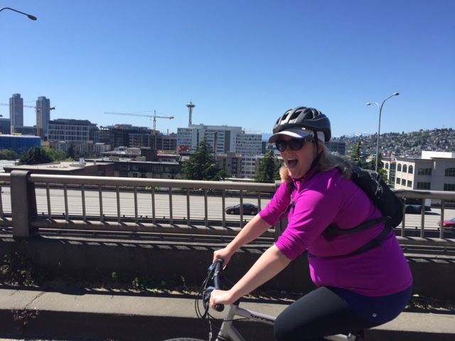Exploring the bike routes of Seattle with Amara